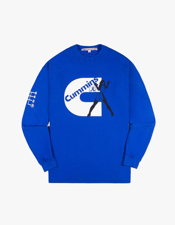 Richardson Cummins Longsleeve Tee - Blue | HEIGHTS. | 하이츠 온라인 스토어