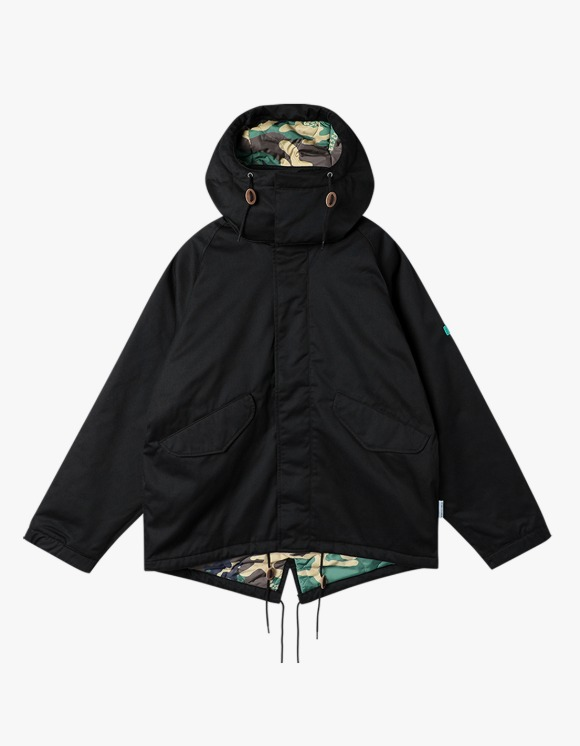yeseyesee Y.E.S Jungle Jacket - Black | HEIGHTS. | 하이츠 온라인 스토어