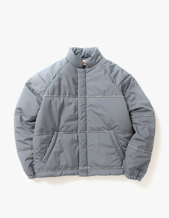 Victoria Hong Kong Bonded Polyester Puffer - Charcoal | HEIGHTS. | 하이츠 온라인 스토어