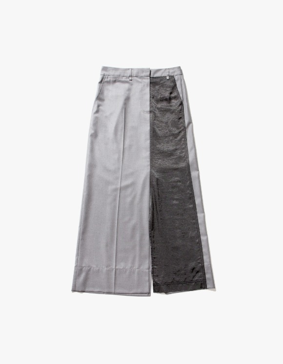 TheOpen Product Panelled Straight Long Skirt - Gray | HEIGHTS. | 하이츠 온라인 스토어