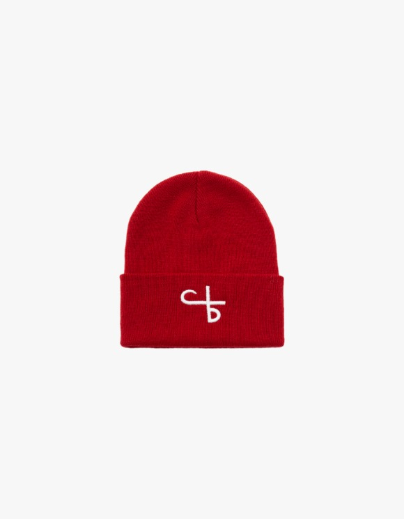 followlessbeauty Logo Beanie - Red | HEIGHTS. | 하이츠 온라인 스토어