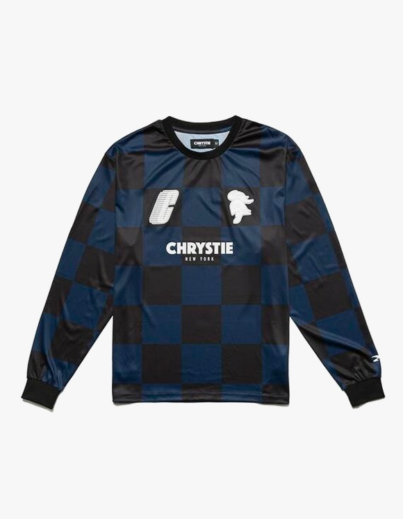 Chrystie NYC SWFC 10th Anniversary Soccer Jersey Away - Navy | HEIGHTS. | 하이츠 온라인 스토어