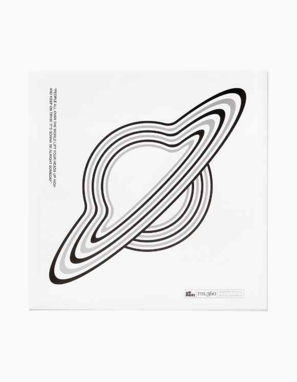 "Save the henz & MODECi RM360 x MODECi ""White Inner Paper Record Sleeves"" Pack (10pcs) 