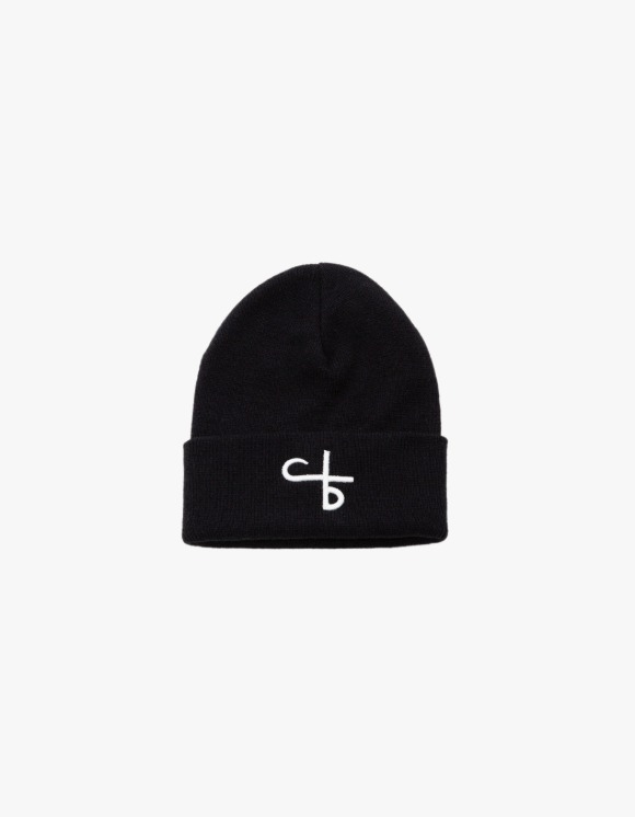 followlessbeauty Logo Beanie - Black | HEIGHTS. | 하이츠 온라인 스토어