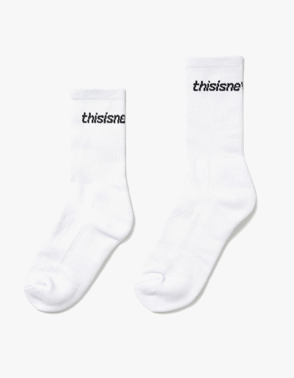 thisisneverthat SP-Logo Socks 3Pack - White | HEIGHTS. | 하이츠 온라인 스토어