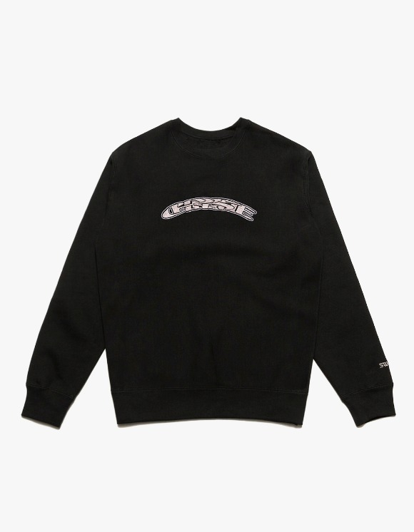 Chrystie NYC SWFC Twisted Logo Crewneck Away - Black | HEIGHTS. | 하이츠 온라인 스토어