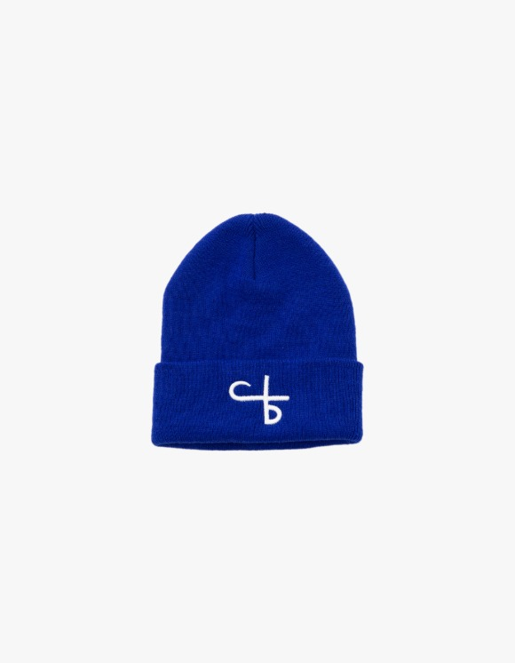 followlessbeauty Logo Beanie - Blue | HEIGHTS. | 하이츠 온라인 스토어