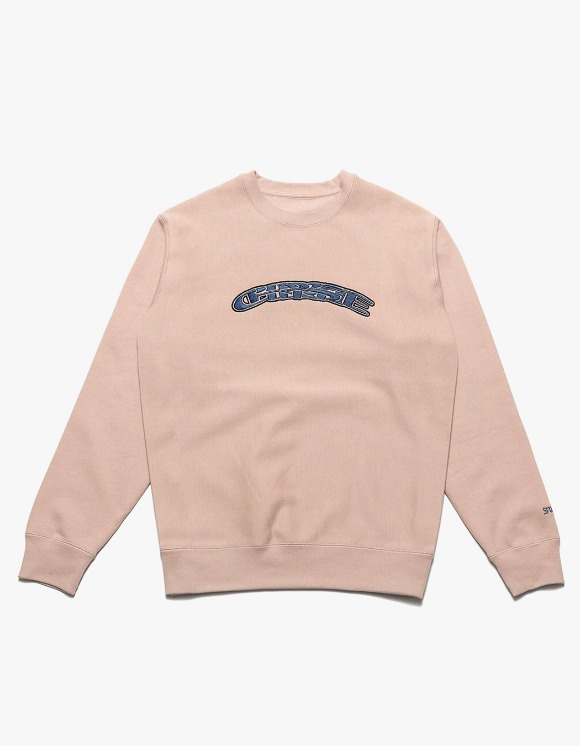 Chrystie NYC SWFC Twisted logo crewneck Home - Pink | HEIGHTS. | 하이츠 온라인 스토어