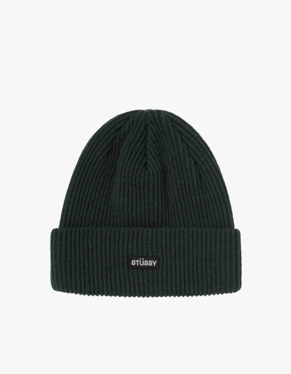 Stussy Small Patch Watch Cap Beanie - Green | HEIGHTS. | 하이츠 온라인 스토어