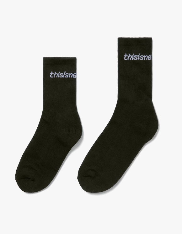 thisisneverthat SP-Logo Socks 3Pack - Black | HEIGHTS. | 하이츠 온라인 스토어