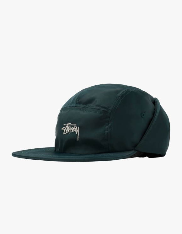 Stussy Stock Ear Flap Camp Cap - Green | HEIGHTS. | 하이츠 온라인 스토어