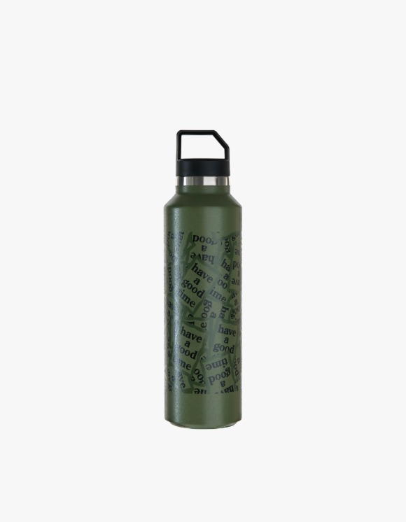 Medicom Toy Stainless Water Bottle - Military Frame | HEIGHTS. | 하이츠 온라인 스토어