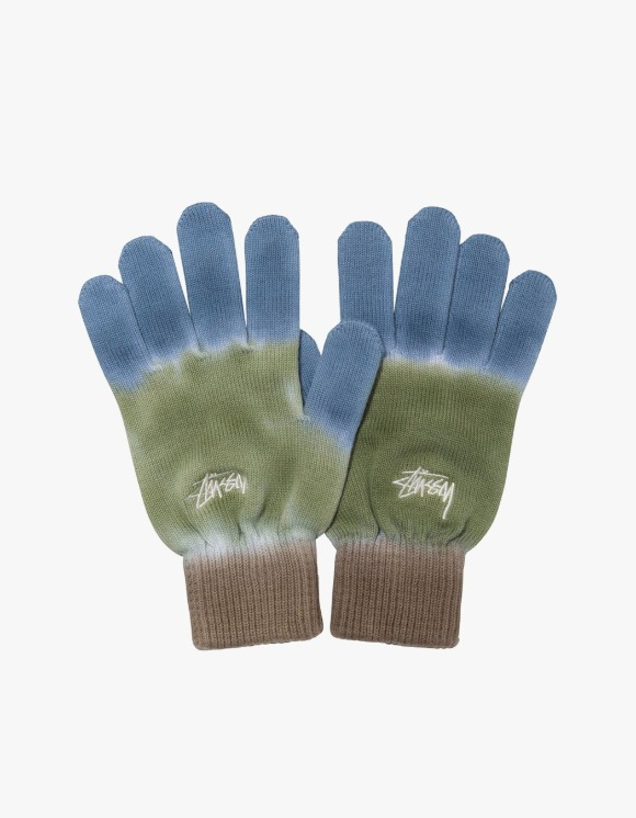 Stussy Earth Day Knit Gloves - Olive | HEIGHTS. | 하이츠 온라인 스토어