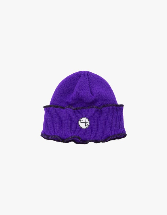 followlessbeauty Over Beanie - Purple | HEIGHTS. | 하이츠 온라인 스토어