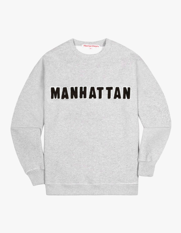 Richardson District Crewneck - Manhattan | HEIGHTS. | 하이츠 온라인 스토어