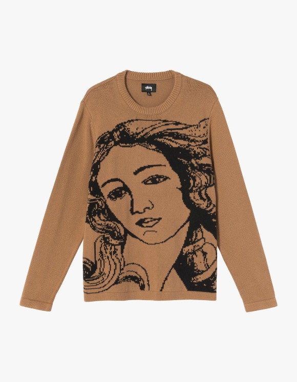 Stussy Venus Sweater - Brown | HEIGHTS. | 하이츠 온라인 스토어