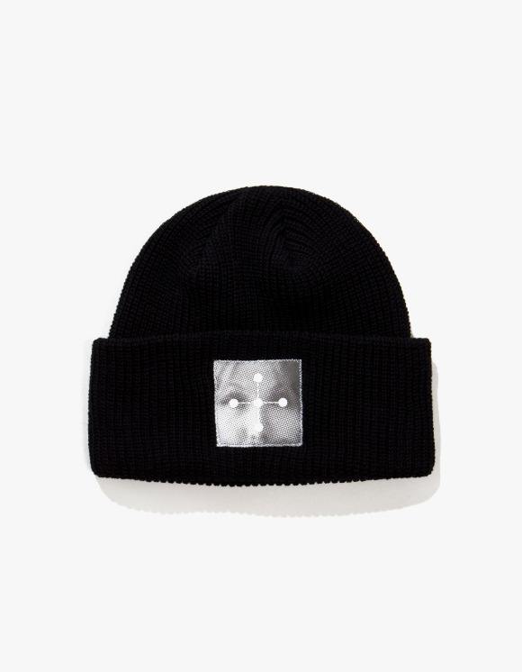 P O R T R A I T  KCJ Cotton Beanie - Black | HEIGHTS. | 하이츠 온라인 스토어