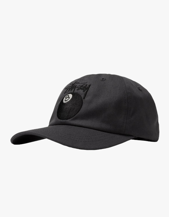 Stussy Stock 8 Ball Low Pro Cap - Charcoal | HEIGHTS. | 하이츠 온라인 스토어