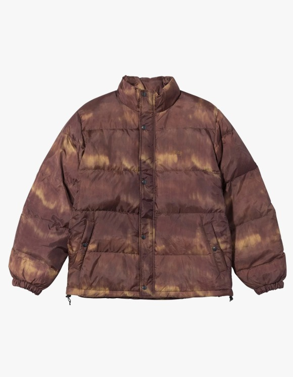 Stussy Aurora Puffer Jacket - Brown | HEIGHTS. | 하이츠 온라인 스토어