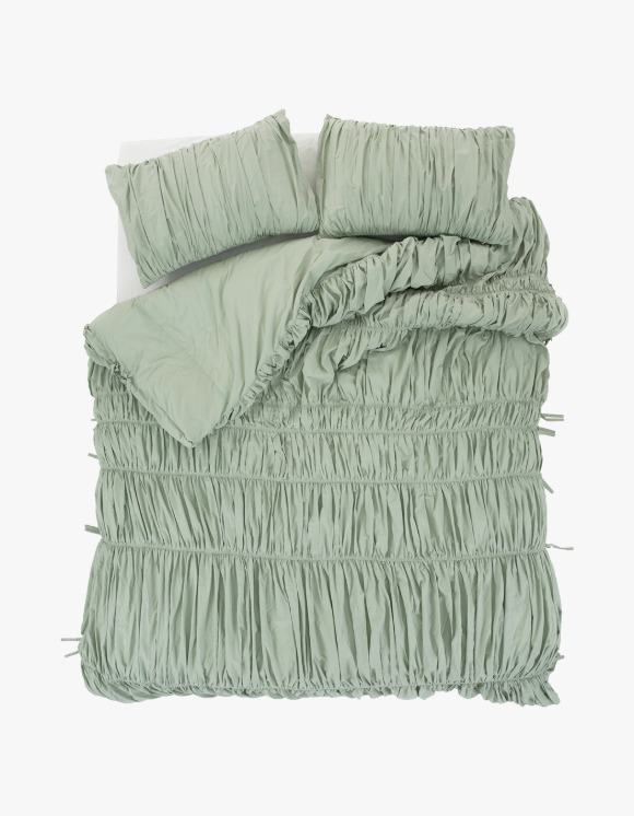 GATA Big Waves Duvet Cover - Mint | HEIGHTS. | 하이츠 온라인 스토어