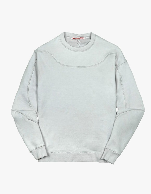 Richardson Yoke Crewneck - Dove Grey | HEIGHTS. | 하이츠 온라인 스토어