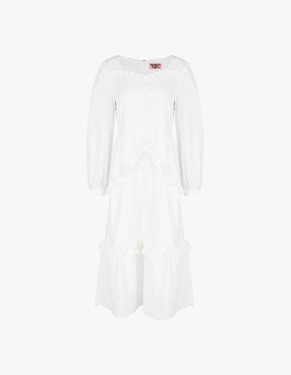 Margarin Fingers Ange Dress - White | HEIGHTS. | 하이츠 온라인 스토어