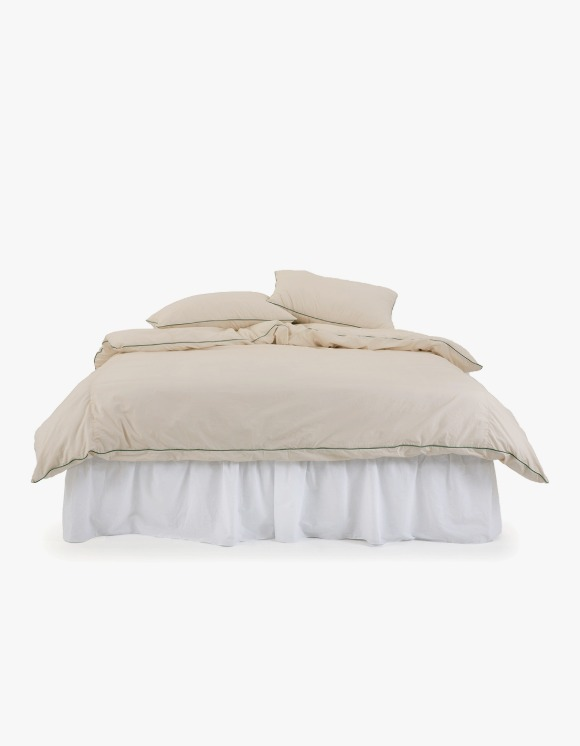 GATA Cicci Duvet Cover - Ivory/Green | HEIGHTS. | 하이츠 온라인 스토어