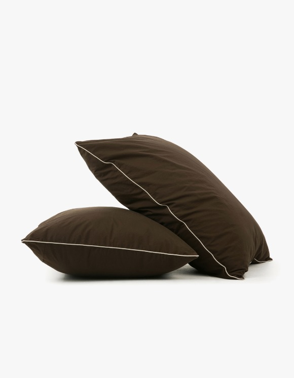 GATA Cicci Pillow Case - Brown/Ivory | HEIGHTS. | 하이츠 온라인 스토어