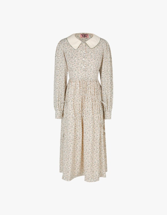 Margarin Fingers Floral String Dress - Cream | HEIGHTS. | 하이츠 온라인 스토어