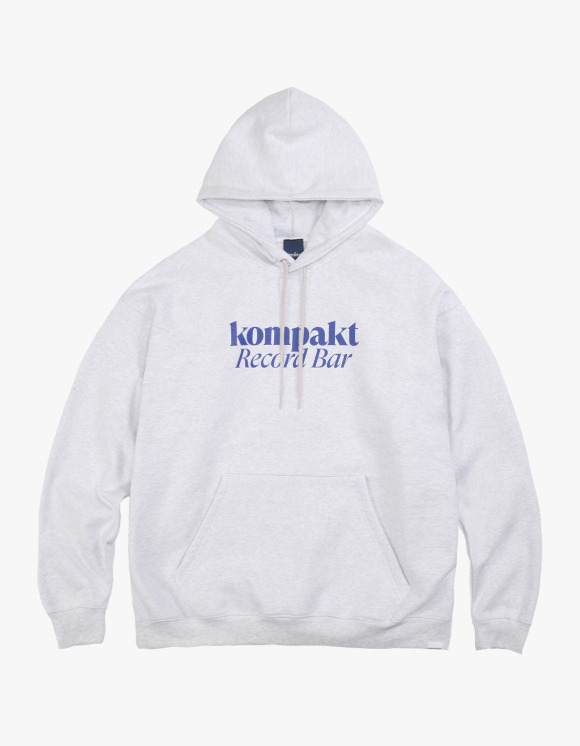 Kompakt Record Bar Interbreed x disk UNION x Kompakt Record Bar Hoodie - Ash Grey | HEIGHTS. | 하이츠 온라인 스토어
