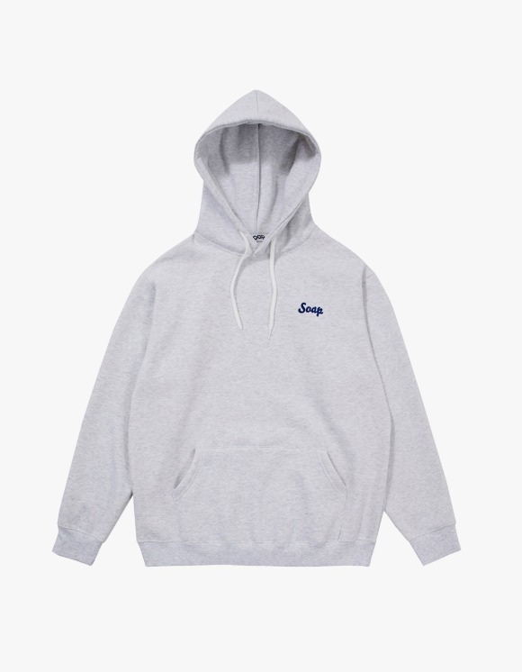 Soap Blue Light Hoodie – Light Grey | HEIGHTS. | 하이츠 온라인 스토어