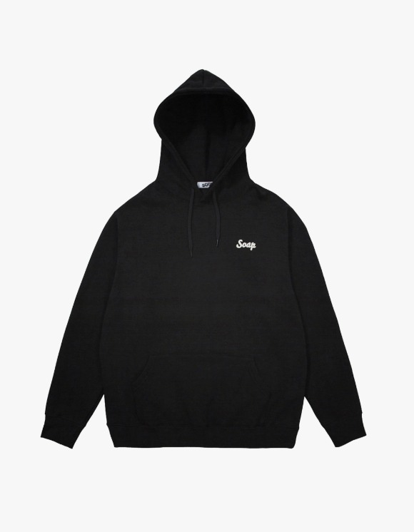 Soap Blue Light Hoodie – Black | HEIGHTS. | 하이츠 온라인 스토어