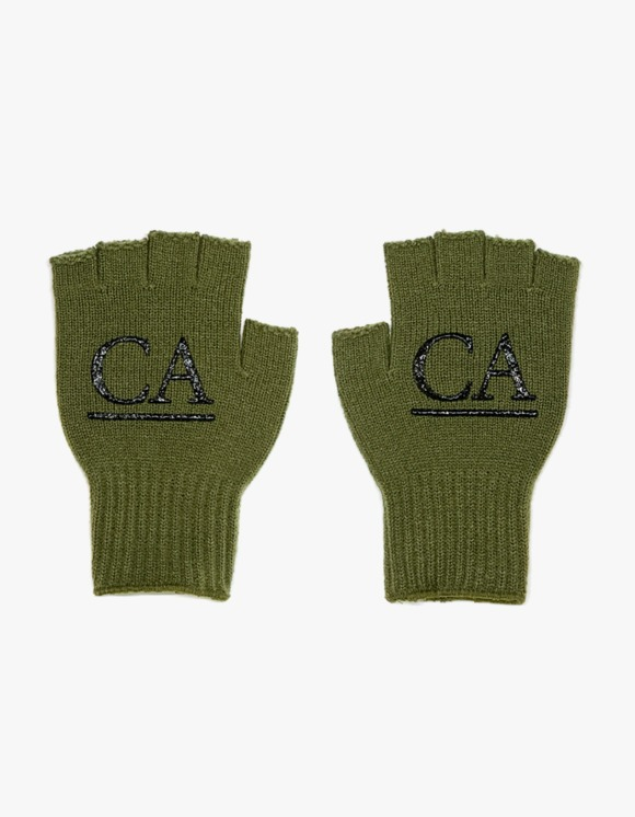 Club Activity CA 'Label' Reversible Glove - Olive | HEIGHTS. | 하이츠 온라인 스토어