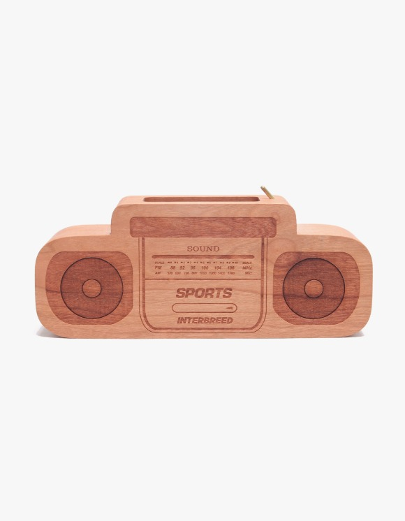 Balansa INTERBREED x SOUNDSHOP BALANSA Boombox Incense Holder Wood | HEIGHTS. | 하이츠 온라인 스토어