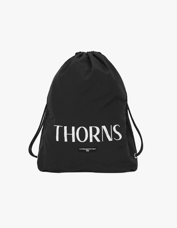 LMC LMC THORNS GYM SACK black | HEIGHTS. | 하이츠 온라인 스토어