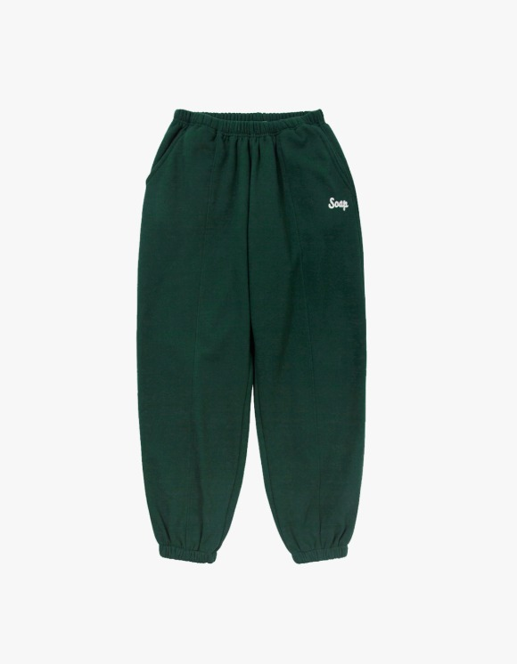 Soap Blue Light Sweatpants – Dark Green | HEIGHTS. | 하이츠 온라인 스토어
