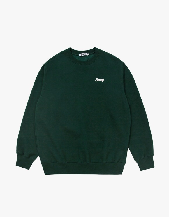 Soap Blue Light Sweatshirts – Dark Green | HEIGHTS. | 하이츠 온라인 스토어