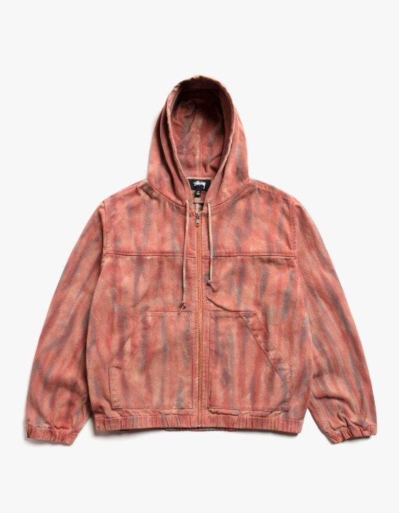 Stussy Dyed Work Jacket - Rust | HEIGHTS. | 하이츠 온라인 스토어