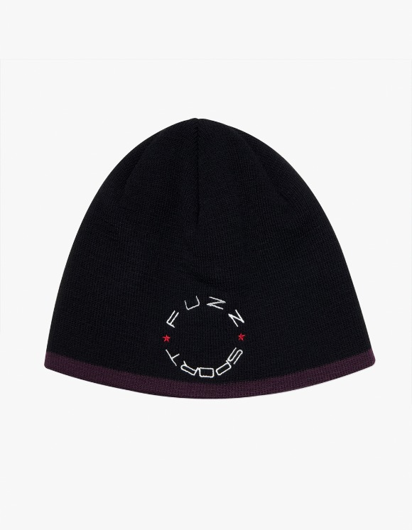 Fuzz FUZZ UNDER LINE SHORT BEANIE black | HEIGHTS. | 하이츠 온라인 스토어