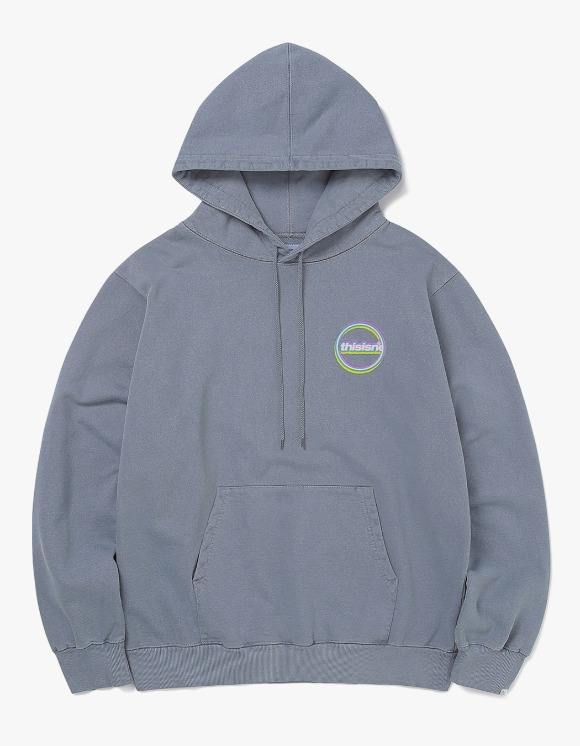 thisisneverthat C-Logo Hooded Sweatshirt - Dark Slate | HEIGHTS. | 하이츠 온라인 스토어