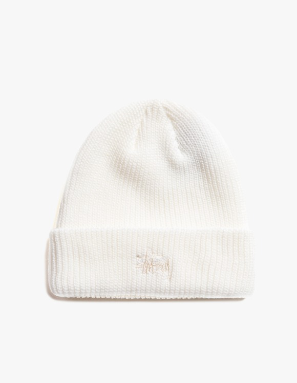 Stussy Basic Cuff Beanie - Natural | HEIGHTS. | 하이츠 온라인 스토어