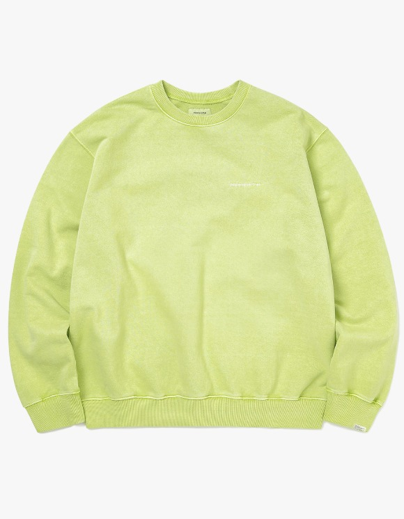 thisisneverthat Small T-Logo Crewneck - Pistachio | HEIGHTS. | 하이츠 온라인 스토어