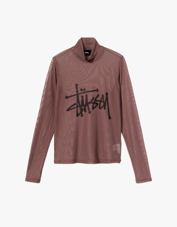 Stussy Layer L/S Tee - Brown | HEIGHTS. | 하이츠 온라인 스토어