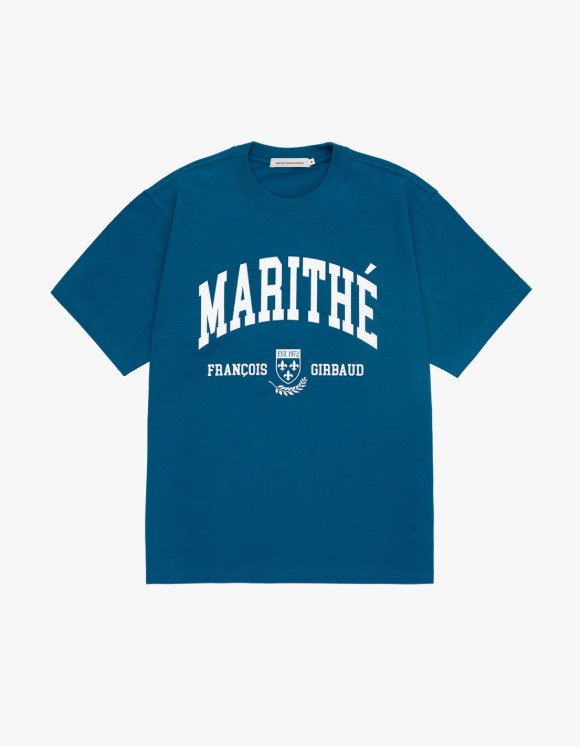 Marith+Franois Girbaud MARITHE COLLEGE TEE blue | HEIGHTS. | 하이츠 온라인 스토어