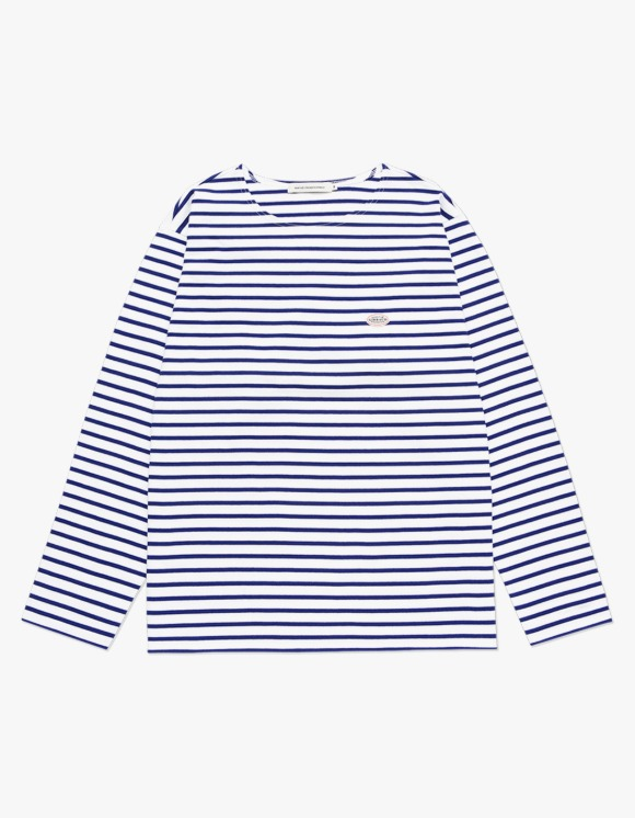 Marith+Franois Girbaud MARITHE BORDER L/S TEE blue | HEIGHTS. | 하이츠 온라인 스토어
