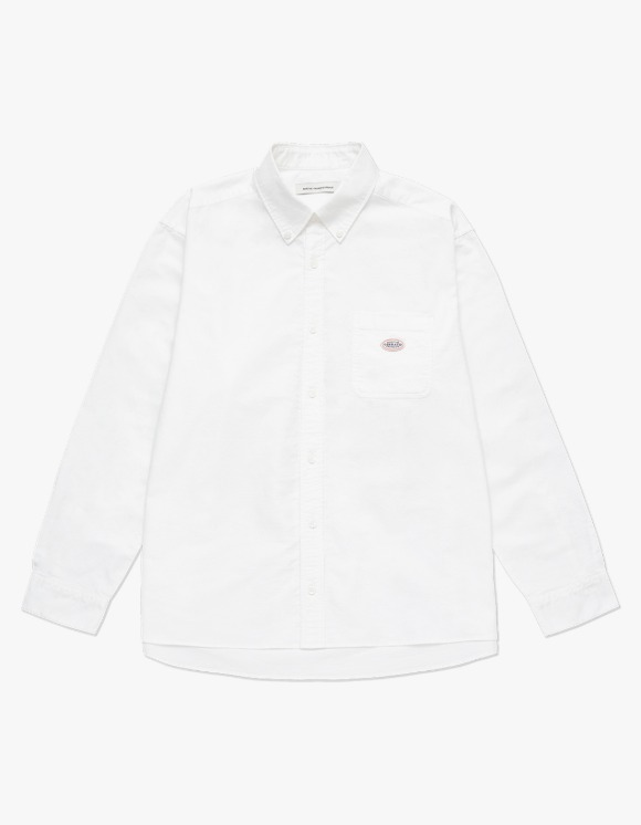 Marith+Franois Girbaud MARITHE RELAXED SHIRT white | HEIGHTS. | 하이츠 온라인 스토어