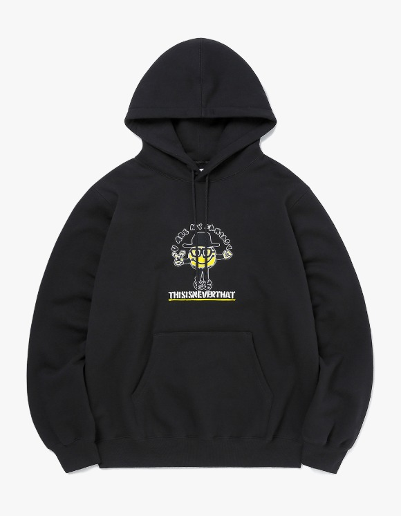 thisisneverthat Goodman Hooded Sweatshirt - Black | HEIGHTS. | 하이츠 온라인 스토어
