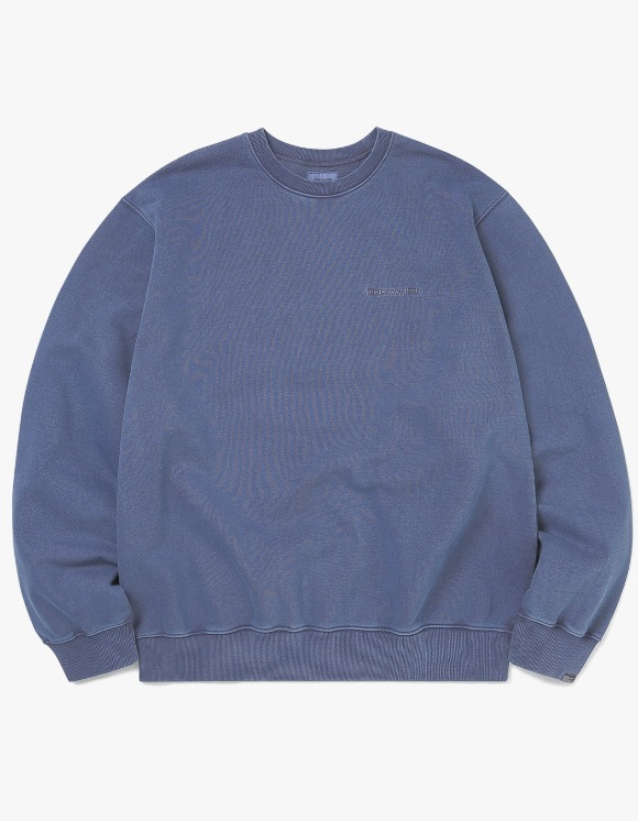 thisisneverthat Small T-Logo Crewneck - Navy | HEIGHTS. | 하이츠 온라인 스토어