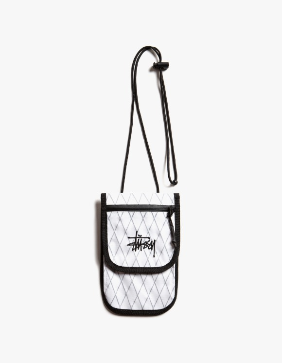 Stussy Travel Pouch - White | HEIGHTS. | 하이츠 온라인 스토어