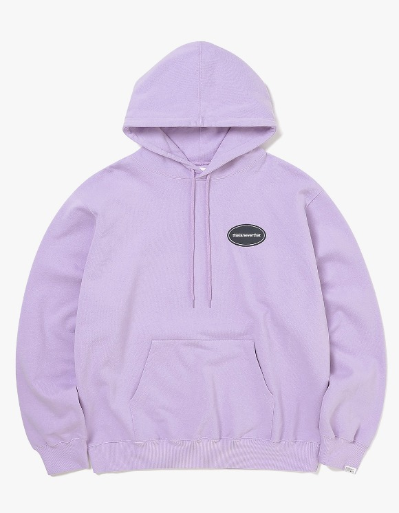 thisisneverthat E/T-Logo Hooded Sweatshirt - Lavender | HEIGHTS. | 하이츠 온라인 스토어